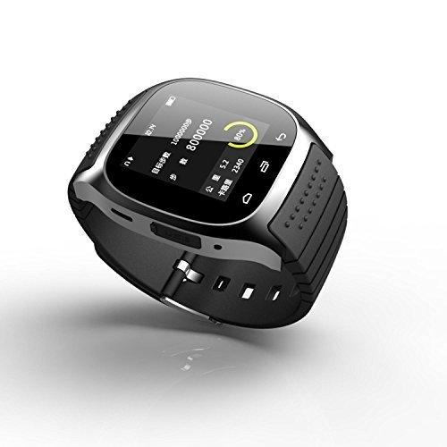 rwatch SmartWatch portátil m26, control de medios de comunicación / manos libres llamadas / podómetro / anti-perdidas para Android / iOS