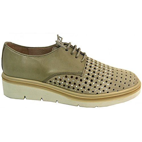 Beige Hispanitas Ibiza 87015 Lace Up wqxzwPSgH