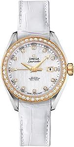 Women's Omega Seamaster Aqua Terra Diamond Luxury Watch 231.28.34.20.55.001 from Omega Watches