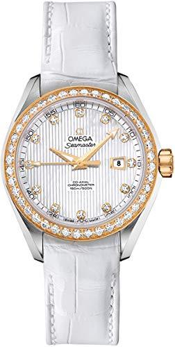 Women's Omega Seamaster Aqua Terra Diamond Luxury Watch 231.28.34.20.55.001