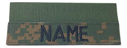WOODLAND MARPAT Name Tape or US Marines USMC Tape,