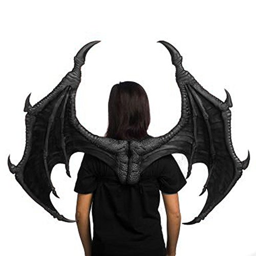 Black Dragon Bat Wings Adult Costume Accessory 43
