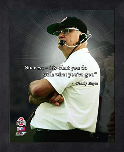 Woody Hayes Ohio State Buckeyes ProQuotes Photo (Size: 9
