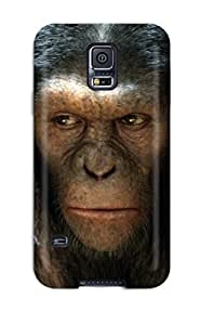 Oscar M. Gilbert's Shop Hot 8796337K23447519 Fashion Protective Rise Of The Planet Of The Apes Movie Case Cover For Galaxy S5