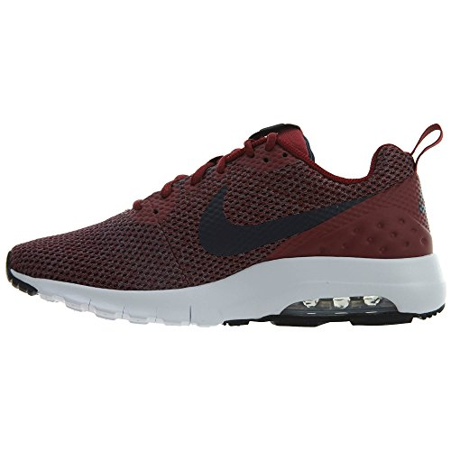 Nike Mens Air Max Motion Lage Cross Trainer Team Rood / Obsidiaan-marine-zwart