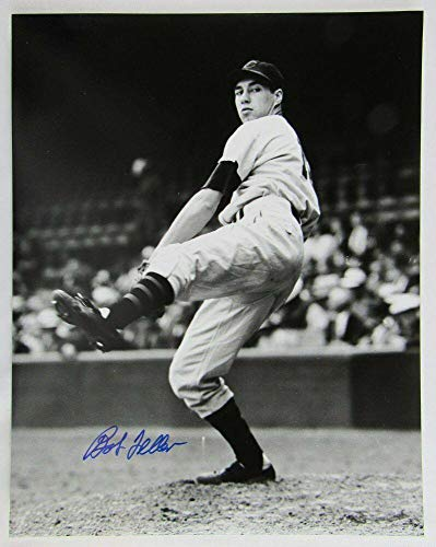 Bob Feller Signed Photograph - 11x14 II - Autographed MLB Photos