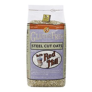 Gluten Free Steel Cut Oats by Bob's Red Mill, 24 oz (2 Pack)