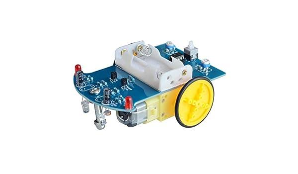 LOL lo Smart Robot Kit de Seguimiento de Robots de Coche Piezas de Robot fotosensible para DIY Juguete eléctrico: Amazon.es: Hogar