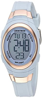 Armitron Sport Women's 45/7034 Digital Chronograph Resin Strap Watch from Armitron Sport