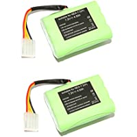 2pcs 7.2V 4500mAh Ni-Mh Vacuum Cleaner Replacement Battery for Neato VX-11 VX-21 VX-15 VX-12