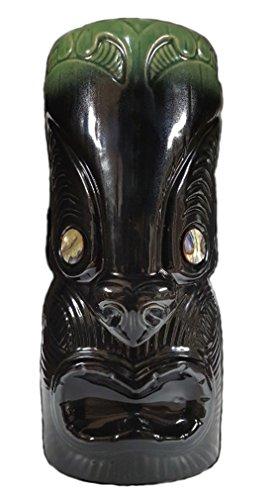 Ku Tiki Mask (Koruru Maori Black Ceramic Tiki Mug - Limited Edition)