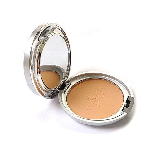 Italia Maku Up Foundation Face Two Way Mineral Powder Rich Tan Oil Free Spf 8 (Foundation Two Way)