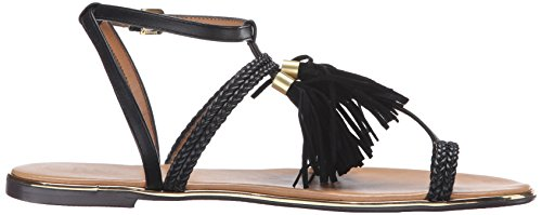 Black Report Sandal Women's Flat Citrine xHRaq1