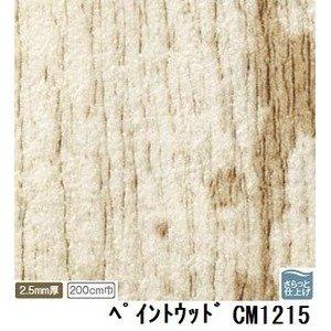 サンゲツ 店舗用クッションフロア ペイントウッド 品番CM-1215 サイズ 200cm巾×3m B07PDBT42S
