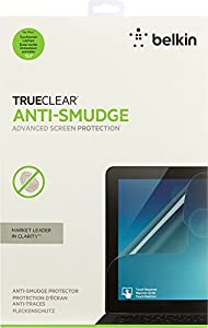 Belkin TrueClear Anti-Smudge Laptop Privacy Filter / Screen Protector for Touch-Screen Laptops, Notebooks and Ultrabooks (up to 13.3-Inch)(F7P327bt) from Belkin Components