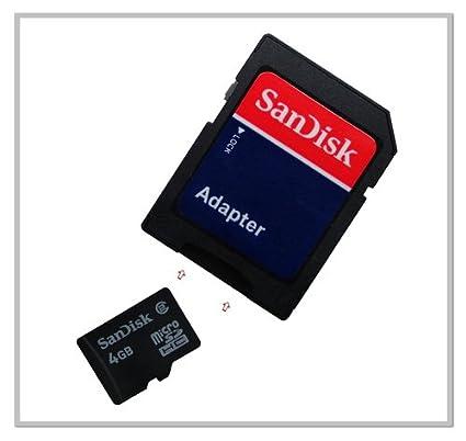 Tarjeta de memoria 4GB para O2 XDA neo (micro SD, Adaptador ...