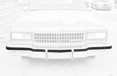 DP 7037-050 14083850 Front Bumper Impact Strip Fits 86-90 Chevrolet Caprice Pontiac Safari Rubber Molding ()