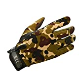 Gaddrt Winter Driving Riding Sport Bikes Warm Gloves For Ski Mountaineering (Camouflage, L)