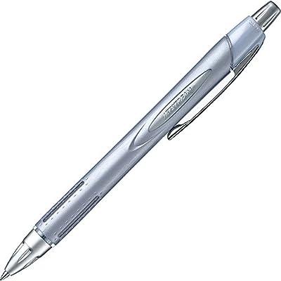 SXN25007.26 Uni Jeststream Alpha-Gel Grip Silver Body 0.7mm Ballpoint Pen