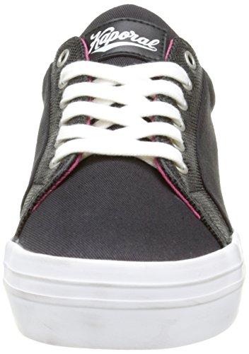 Top Frauen Flex Schwarz Kaporal Low Sneakers 1zqwF0F