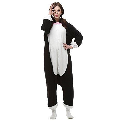 Cute Japanese Animal Costumes (Pinkmerry Unisex Adult Onesies Cosplay Costumes Animal Footed Pajamas (FBA))