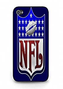 For iPhone 5 5S Lightweight NFL Logo Mobile Cover Protect Skin by ruishername