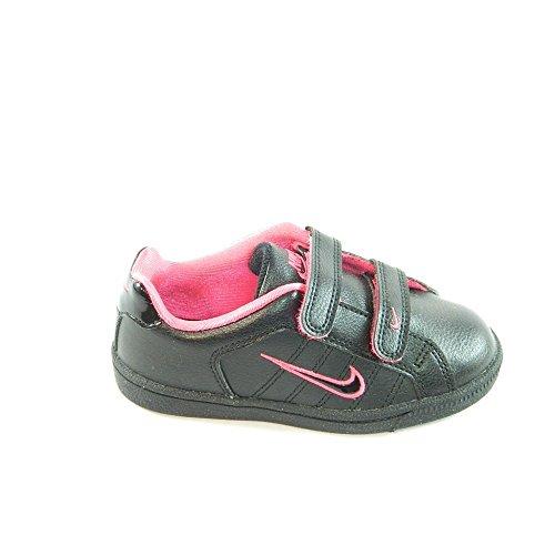nike zapatos de niñas negro y rosa nike