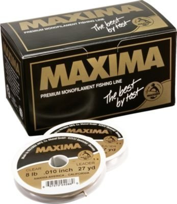Maxima Fishing Line Leader Tying Kits, Chameleon, 1-25-Pound