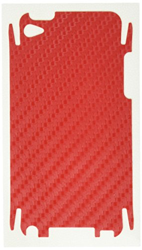 - BodyGuardz Carbon Fiber Armor Protective Film for iPod Touch 4G (Red)