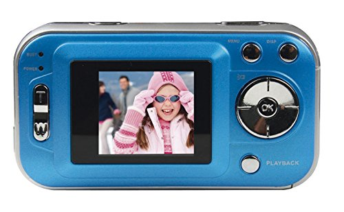 Polaroid CAA-200LC 2MP CMOS Digital Camera with 1.44-Inch LCD Display (Blue) (Discontinued by Manufacturer)