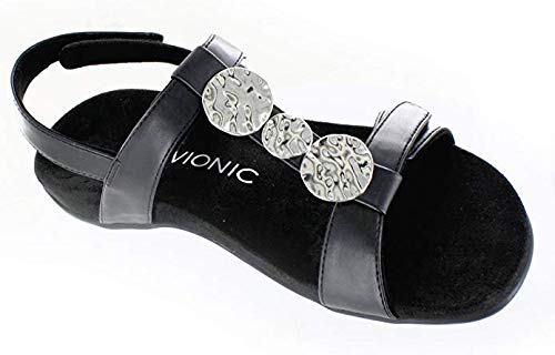 d62c48c1cbfd Amazon.com  Vionic Women s Rest Farra Backstrap Sandal - Ladies Adjustable  Sandals with Concealed Orthotic Support  Shoes