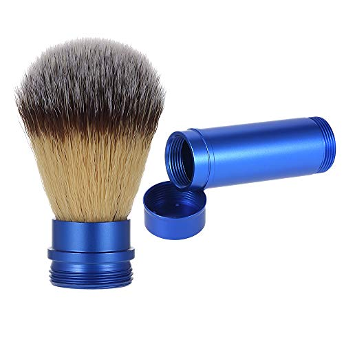- Anself Pure Badger Shaving Brush Removable Blaireau Beard Cleaning Brush Aluminum Handle