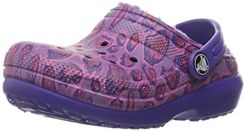 Crocs Classic Lined Graphic Clog (Toddler/Little Kid) - L...