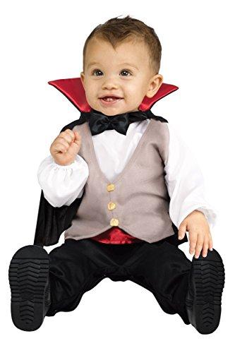 Fun World Kid's Lrg/Baby Drac Infnt Cstm Baby Costume, Multi, -