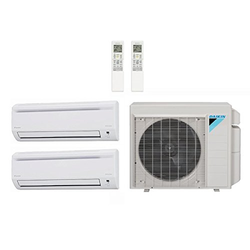 Daikin 24,000 Btu 18.9 Seer Multi Zone Mini Split Heat Pump
