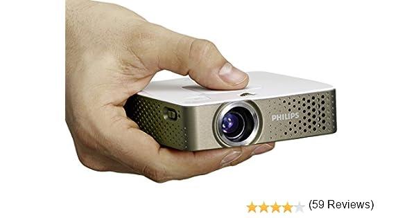 Philips PPX3414 - Proyector de bolsillo LED (140 lúmenes, 279 gr ...