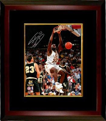 55ebf26554f Shaquille O'Neal signed LSU Tigers 16x20 Photo Custom Framed #33 (white  jersey