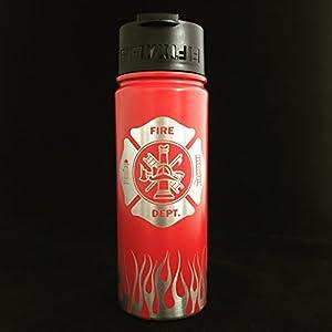 Firefighter Gifts Fireman Gifts, Fireman gift, Fireman, FiftyFifty, Water bottle, Coffee mug, Travel coffee cup, Fireman gift, Firefighter gift, Fireman birthday, Travel water bottle, Coffee cup