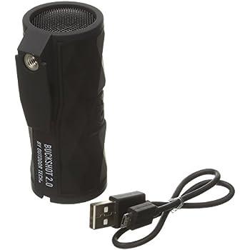 Outdoor Tech OT2301 Buckshot 2.0 Rugged Waterproof Super-Portable Wireless Speaker , Black