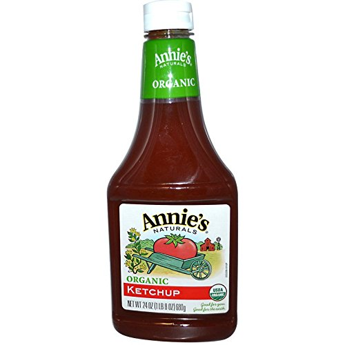 Annie's Naturals, Organic, Ketchup, 24 oz (680 g) By Annie's Naturals Annies Naturals Organic Ketchup