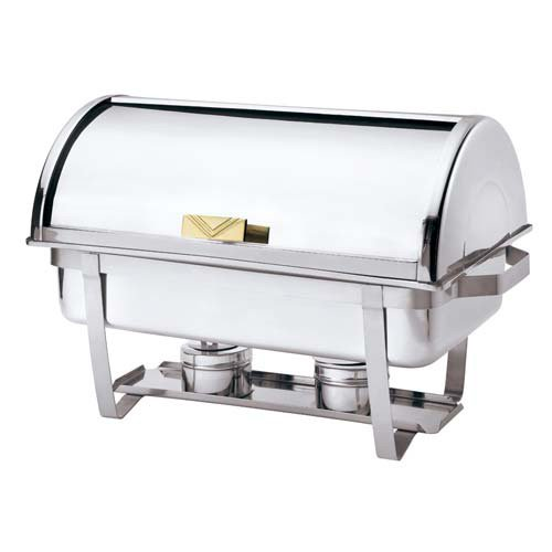 (Browne (575135) 9 qt Stainless Steel Rectangular Economy Roll Top)