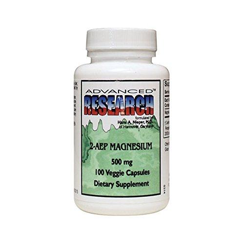 NCI Advanced Research Dr. Hans Nieper 2aep Magnesium Capsules, 500 Mg, 100 Count