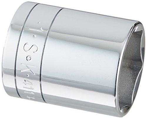 SK Hand Tool 41132 6 Point 1-Inch Standard Drive Socket 1/2-Inch Chrome [並行輸入品] B078XL6XHN