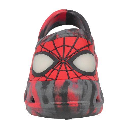 Marvel Spiderman Toddler Slippers Sandals Clogs Medium 7/8 - Image 1