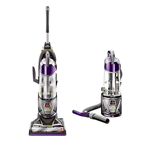 Bissell 20431 Powerglide Lift Off Pet Plus Upright Bagless Vacuum (Best Vacuum For Pet Dander)