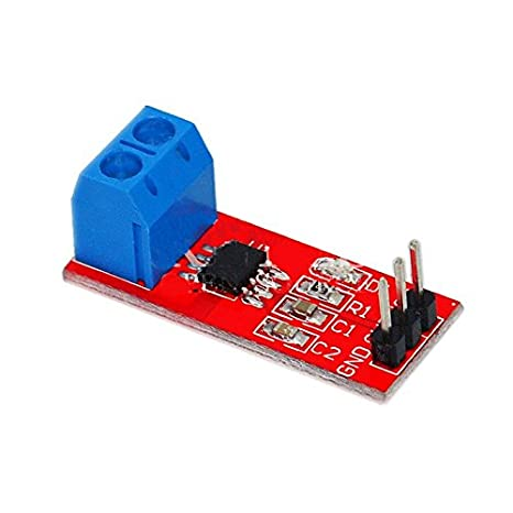 Tolako 5V Hall-Effect Current Sensor Module (5A)