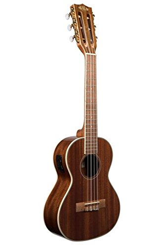 Kala KA-6E Six String Tenor Gloss Mahogany Ukulele with EQ