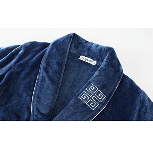 Luxury Da Xxxl Models Bath Large Robe Size Toweling 100 colore Accappatoio Bright Nan Coppia Camicia Lunga Pigiama Liang Cotton Notte Men's Models Accogliente Female Dimensioni 7qWSIBw