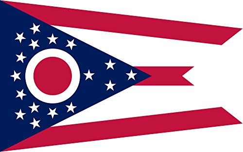 Ohio Flag 3x5 Polyester - State Flag of Ohio by SoCal Flags® - Buy From an American Company!