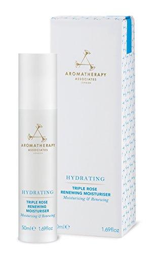 Aromatherapy Associates Hydrating Triple Rose Renewing Moisturizer, 1.69 Fl (Aromatherapy Rose Moisturizer)